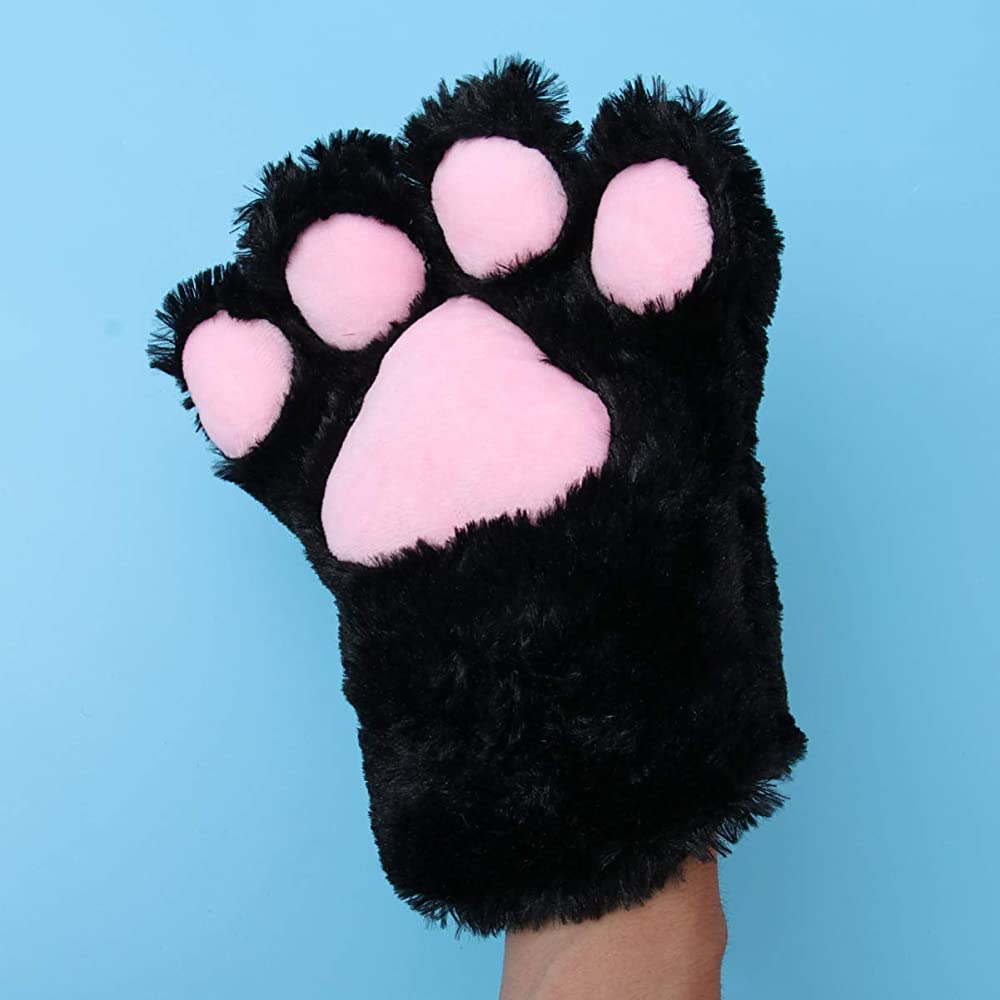12 unidades de tela de algod/ón para disfraz de gatito para el pelo para tem/ática y fiesta de Halloween en leopardo y estampado de cebra Gato orejas diadema