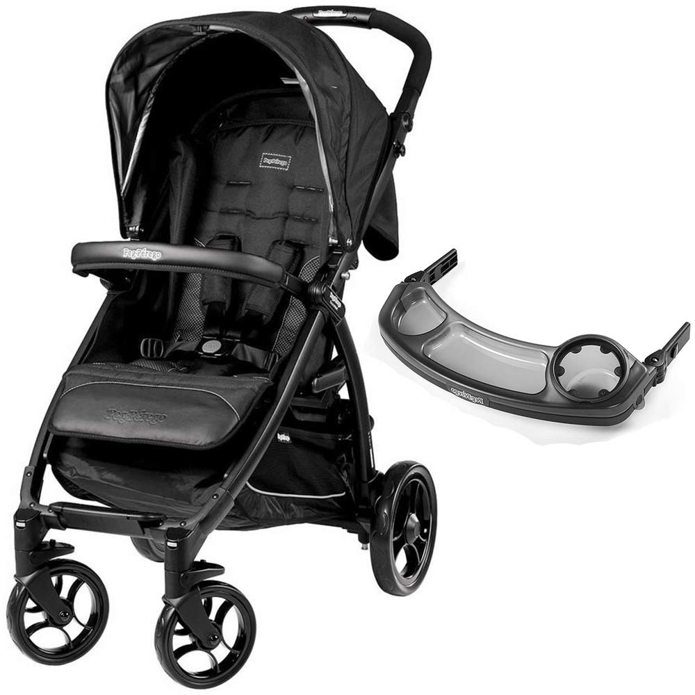 Amazon.com: Peg Perego Booklet, Onyx with Booklet Tray ...
