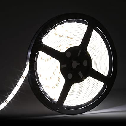 Daylight Strip Lights Amazon ledmo 5630 flexible led strip daylight 300pcs smd ledmo 5630 flexible led strip daylight 300pcs smd 5630leds 164ft dc12v waterproof ip65 25lm audiocablefo