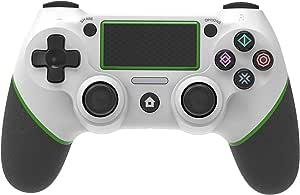 Game Controller voor PS4,Controller Compatibel met PlayStation 4, Voor PS4 Draadloze Joystick Vibratie Bluetooth Game Controller Joystick Gamepad voor PS4/PS4 Slim/PS4 Pro Antislipgreep LED-indicator
