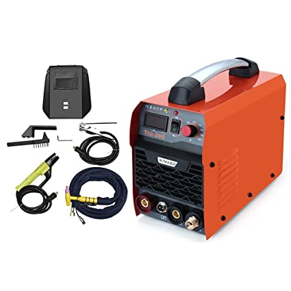 Resina Star 200 Amp TIG Arc MMA IGBT DC sudor dispositivo Stock Inverter soldar Sistema Digital