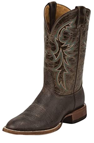 Nocona Western Boot Men Shoulder Print Round Toe Chocolate MD2750