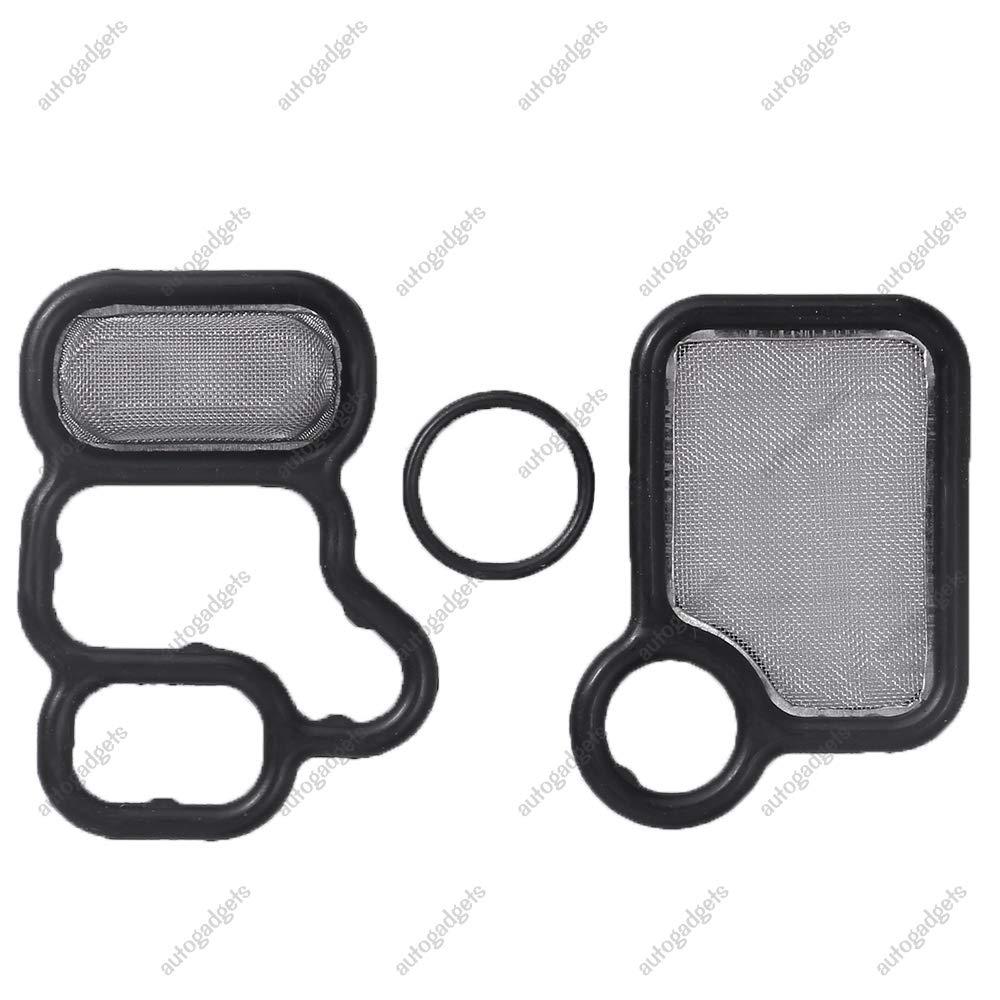 15815-RAA-A02 VTEC Solenoid Gasket Spool Valve Filter Screen For Honda CR-V Accord Civic Acura RSX RDX TSX 15845-RAA-A01 91319-PAA-A01