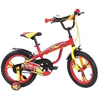Spartan 16-Inch Disney Cars 3 Premium Bicycle with Bag - Q-CA3-16P, Multi Color