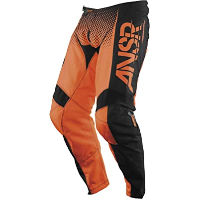Answer Racing A17.5 Syncron Men's Off-Road Motorcycle Pants - Orange/Black/Size 28: Automotive