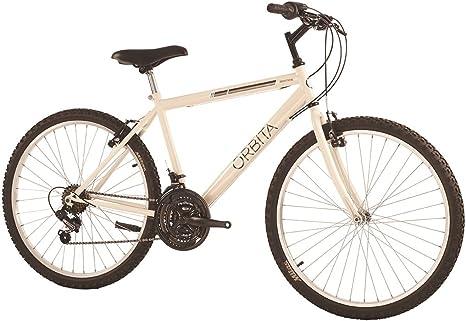 Orbita Deimos Bicicleta, Hombre, Blanco, 18: Amazon.es: Deportes ...