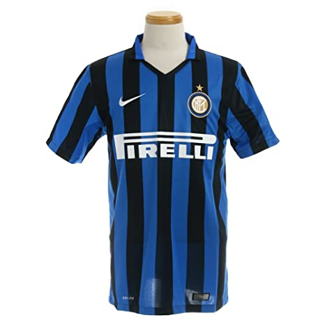 71294413 Image Unavailable. Image not available for. Color: 2015-2016 Inter Milan  Home Nike Football Shirt
