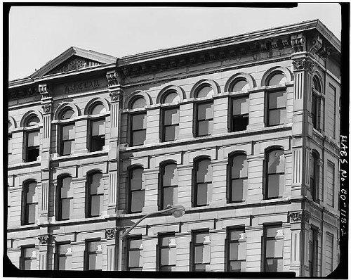 HistoricalFindings Photo: Barclay Block,1755 Larimer Street,Denver,Denver County,Colorado,CO,HABS,1