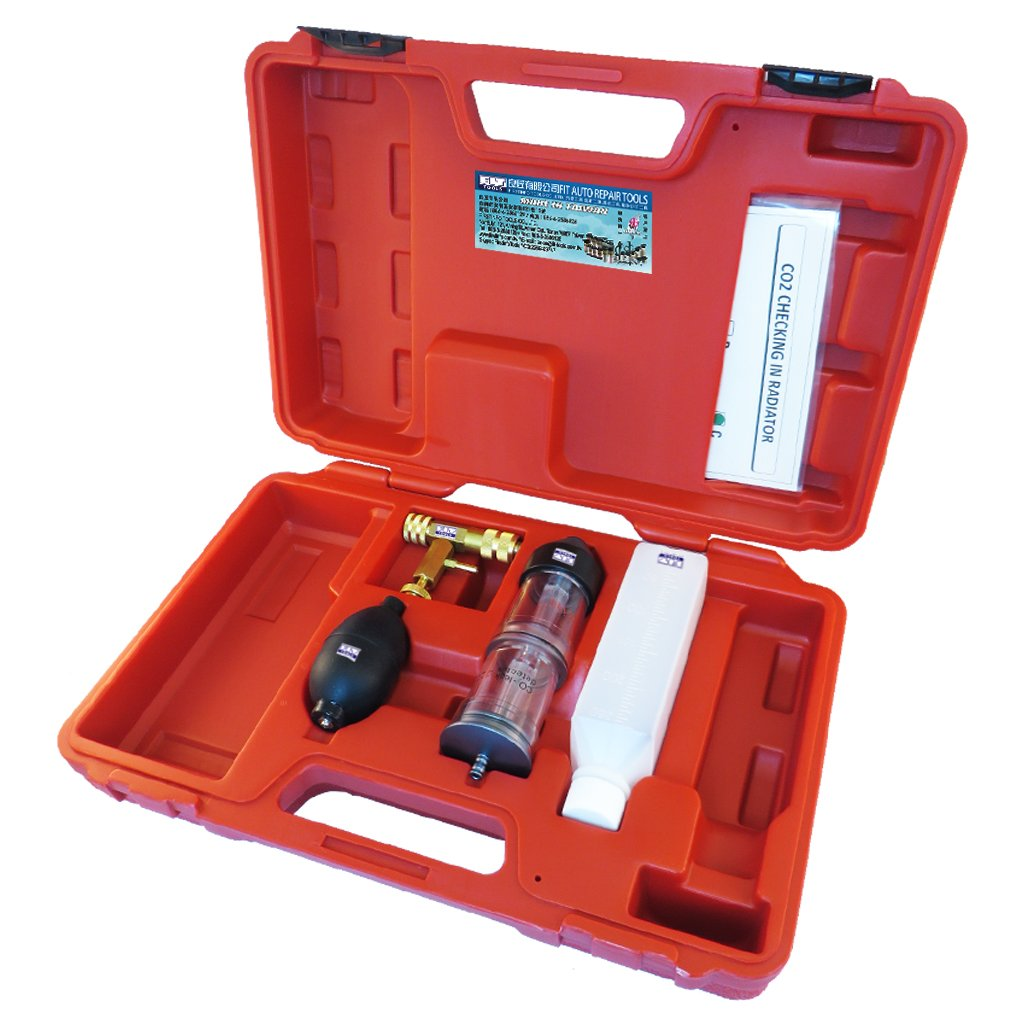 Fit Tools kit tester sistema di raffreddamento rilevatore di perdite di gas di combustione CO2  controllo in radiatore FIRSTINFO TOOLS Co. Ltd. A1645X