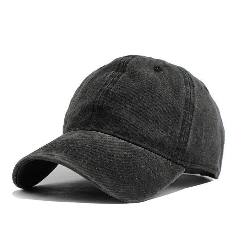 Men Women Classic Yarn-Dyed Denim Baseball Cap Celtic Knot Headwear