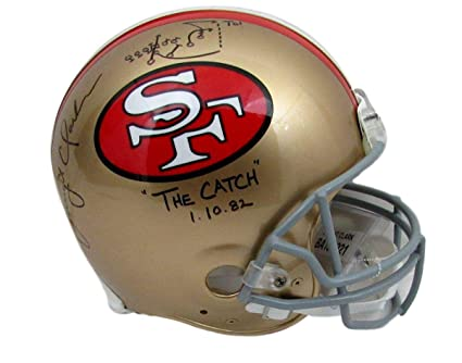 1287eea185b Image Unavailable. Image not available for. Color  Dwight Clark Signed  Helmet - Riddell Proline Drawn Play Fanatics 136921 - Fanatics Authentic  Certified