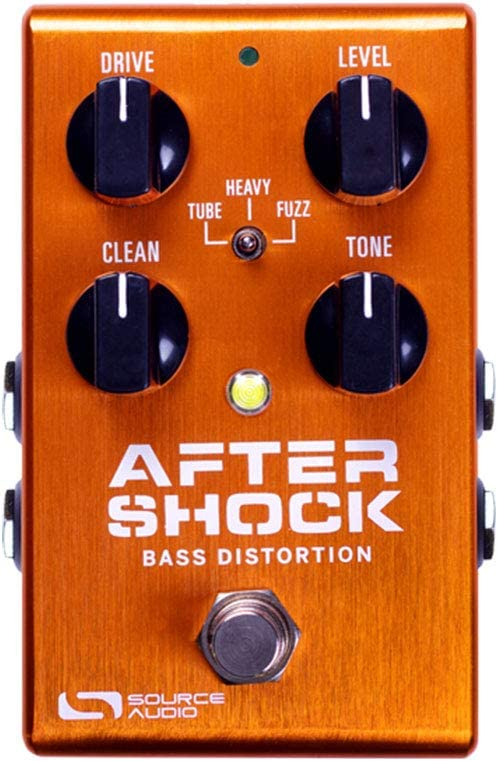 Source Audio Aftershock Bass Distortion Pedal