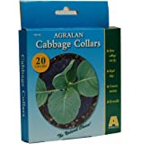 Agralan Cabbage Collars Deters Cabbage Root Fly Repels Slugs And Snails 20 Pack