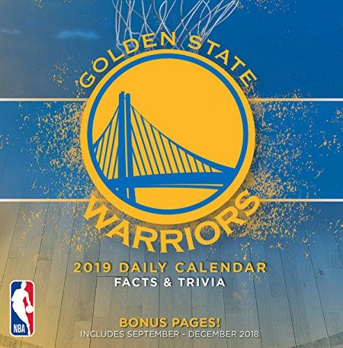 Turner 1 Sport Golden State Warriors 2019 Box Calendar Desk Calendar (19998051485)