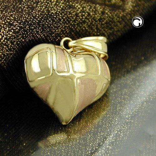 Bijoux Pendentif en 375 OR coeur 5 x 3 mm