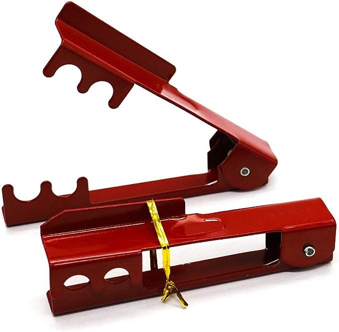 HUELE - Juego de 2 limpiadores de Tallo de Rosa y Espina para Desmontar Espinas (Rojo): Amazon.es: Jardín