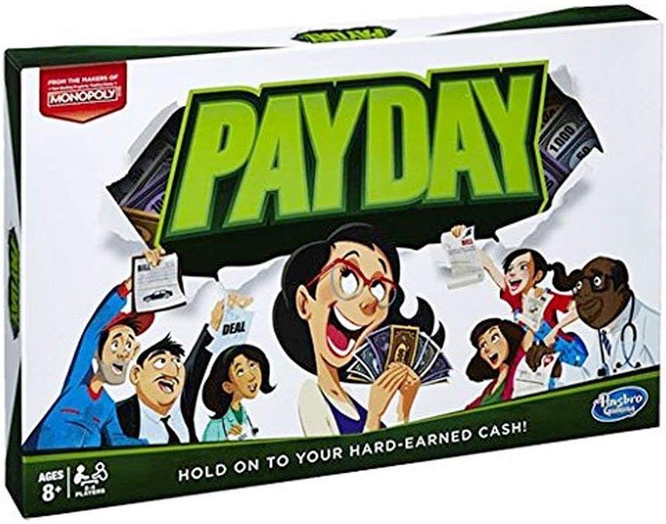 Hasbro Juego de día de Pago para Juegos: Amazon.es: Juguetes y juegos