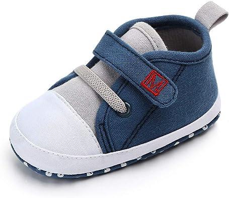 Beb/é Primeros Pasos Zapatos 1-4 a/ños Ni/ños Zapatos Ni/ños Ni/ñas Infante Suave Suela Antideslizante Transpirable Zapatillas Deportivas