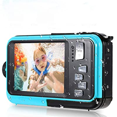 1080P Full HD Screen Underwater Digital Camera Water-resistant up to 10FT under