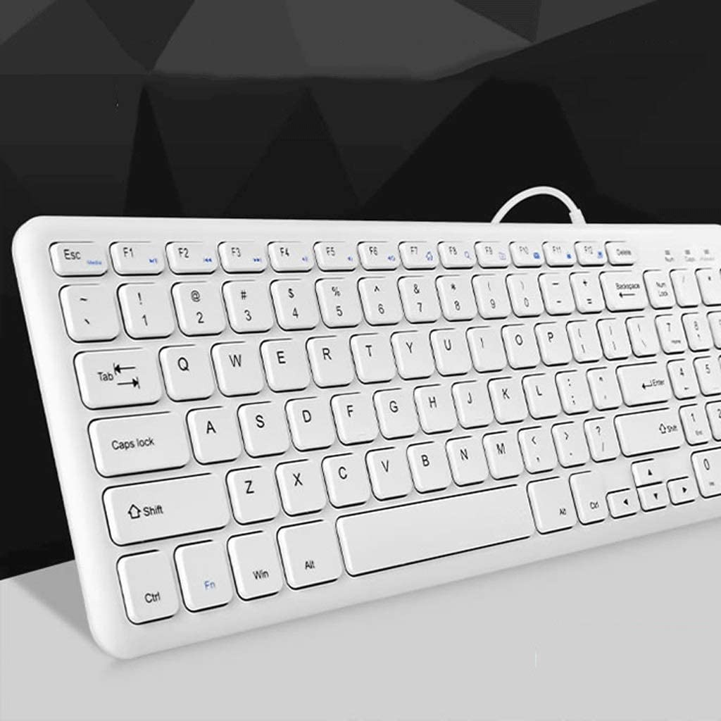 Color : Jazz Black Upgraded Version Chocolate Keyboard Wired Computer Laptop USB External Home Office Apple Keyboard Mouse Set Silent Mini