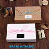 Wall of Dragon 20pcs/lot 19.5x12.5x4 cm/7.6x4.9x1.5 kraft paper/white gift boxes envelope styled presentation box for wedding invitation cards