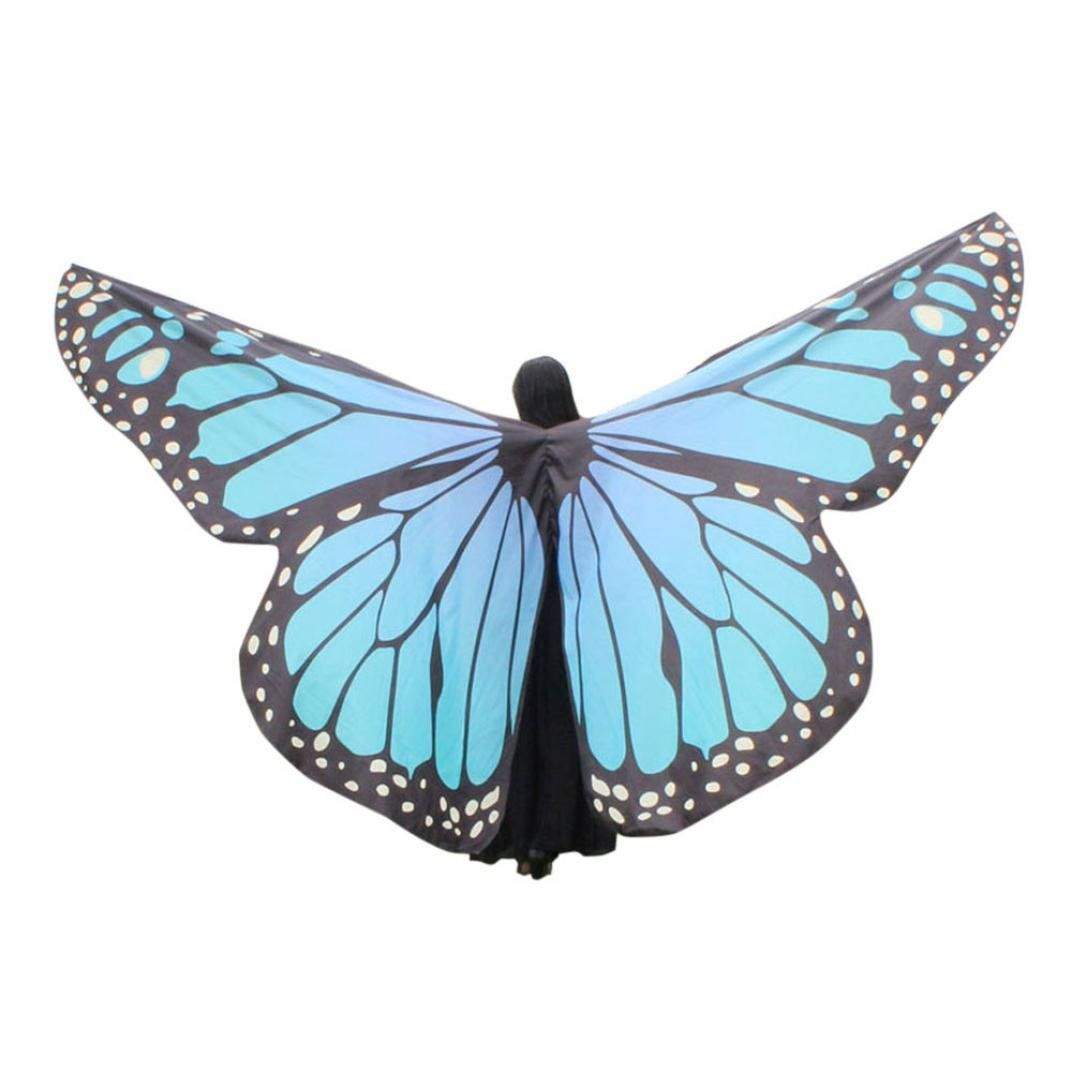 best selling VESNIBA Egypt Belly Wings Dancing Costume Butterfly ...