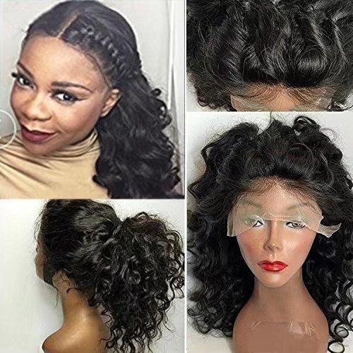 Glueless Human Hair Lace Front Wigs Brazilian Virgin Hair Human Hair Lace Human Hair Wigs For Black Women Brazilian Loose Body Wave Lace Front Wigs 150% Density ( 24