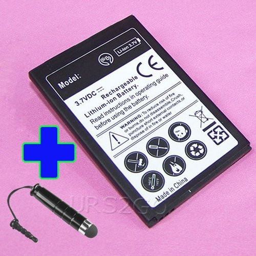 New High Capacity 2100mAh Extended Slim Replacement Rechargeable Li_ion Battery for Cricket ZTE Sonata 4G Z740G SmartPhone with special accessory (see picture) - ReelWonder
