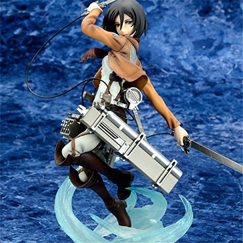 [Anime Mikasa Ackerman 1/8 PVC Figure New In Box] (Deluxe Mad Hatter Costume Uk)