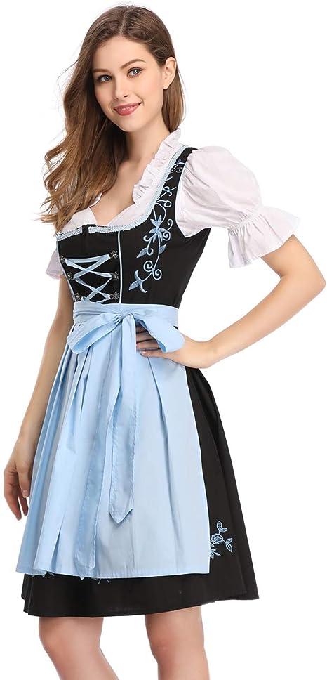 Amazon.com: Kojooin Disfraz para el October Fest, vestido ...