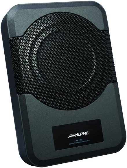 Alpine Electronics PWE-S8-WRA Powered Subwoofer for 2011-Up Jeep Wrangler
