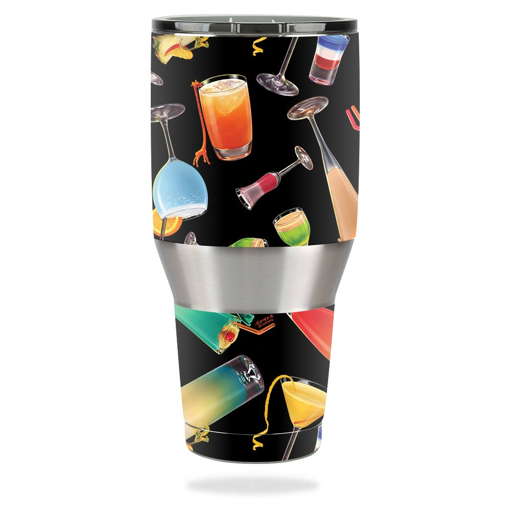 MightySkins Skin for Ozark Trail 40 oz Tumbler – Cocktail Therapy   Protective, Durable, and Unique Vinyl Decal wrap Cover   Easy to Apply, Remove, and Change Styles   Made in The USA