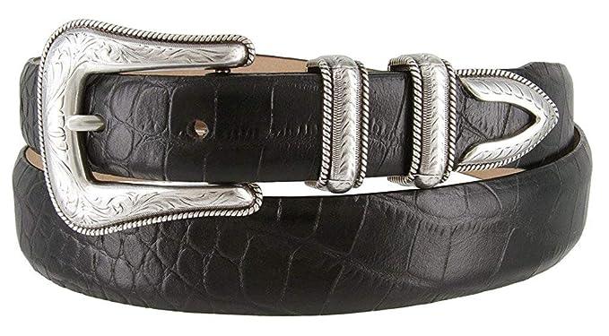 Amazon.com: BBBelts - Cinturones de piel de becerro italiano ...