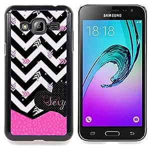 - Chevron Black White Zebra Pink Heart - - Monedero pared Design Premium cuero del tir???¡¯???€????€???????????&
