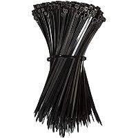 Cable Ties Zip Ties Nylon UV Stabilised Bulk Black Cable Tie (3.00mmx100mm, 100PCS)