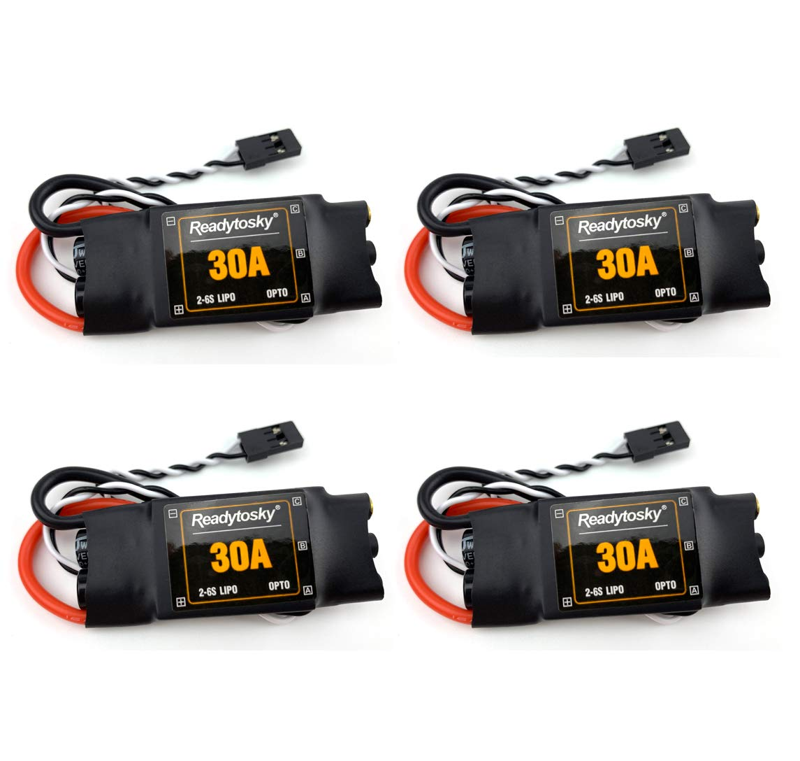 Readytosky 30A ESC Opto 2-6S Brushless Speed Controller for RC Quad Multicopter
