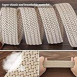 WONDAY Elastic Brdided Belt-Fabric Woven