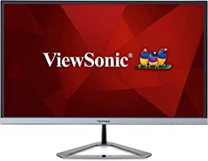 """Viewsonic VX2776-SMHD 27"""" LCD Monitor with SuperClear® AH-IPS Technology, Dark Silver"""