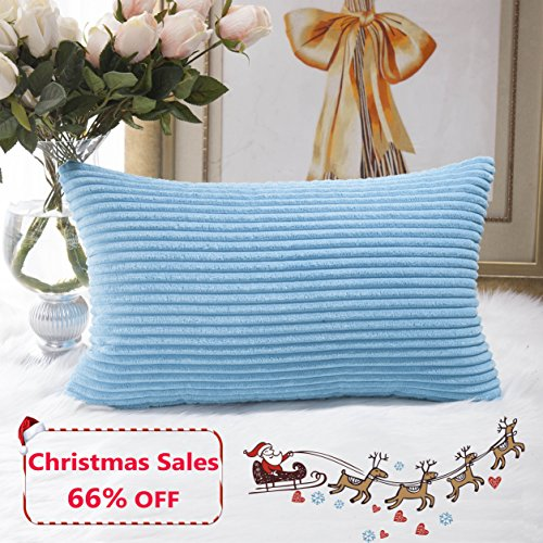 Bamboo Decorative Pillow (Home Brilliant Obong Rectangle Throw Pillow Cover Cushion Cover for Bench/Outdoor furniture, 12