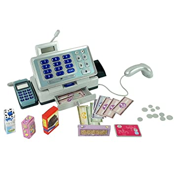 Just Like Home Talking Cash Register - Blue by Toys R Us