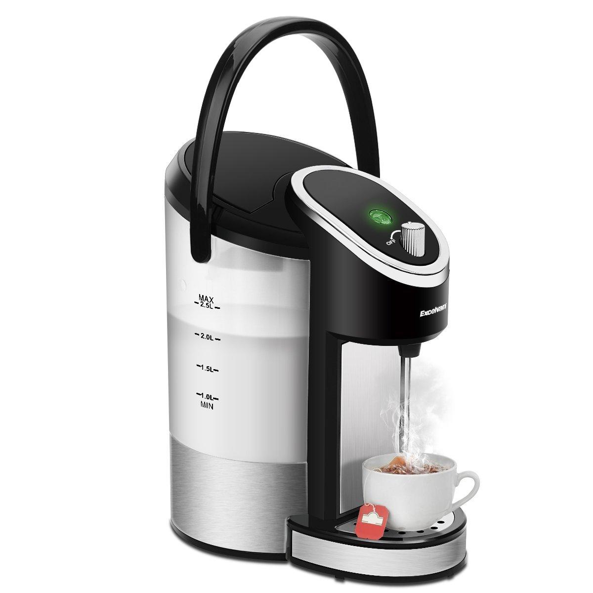 Instant Hot Water Dispenser ~ Excelvan electric instant hot water dispenser kettle