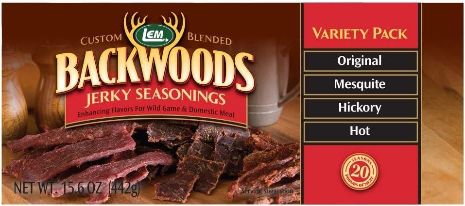 Backwoods Jerky Variety Pack 61FobwU7Q3L