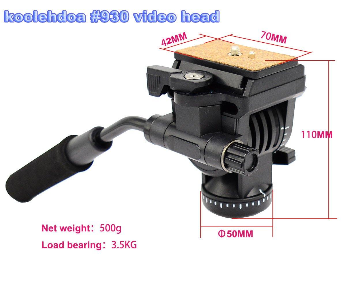 Koolehaoda / Azione Video Fluid Capo drag Idraulica in estensione testa a sfera / Video testa fluida per treppiede