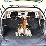 "Cheap CCJK SUV Cargo Liner for Dogs Trunk Liner, Waterproof Free Pet Barrier, Dog Car Seat Cover Protect Car from Water, Non Slip Backing(Small Size 4278""(WL))"