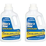 Armstrong 330806 Armstrong Once 'N Done Cleaner Concentrate, 1/2 Gallon (64OZ) - 2 Pack