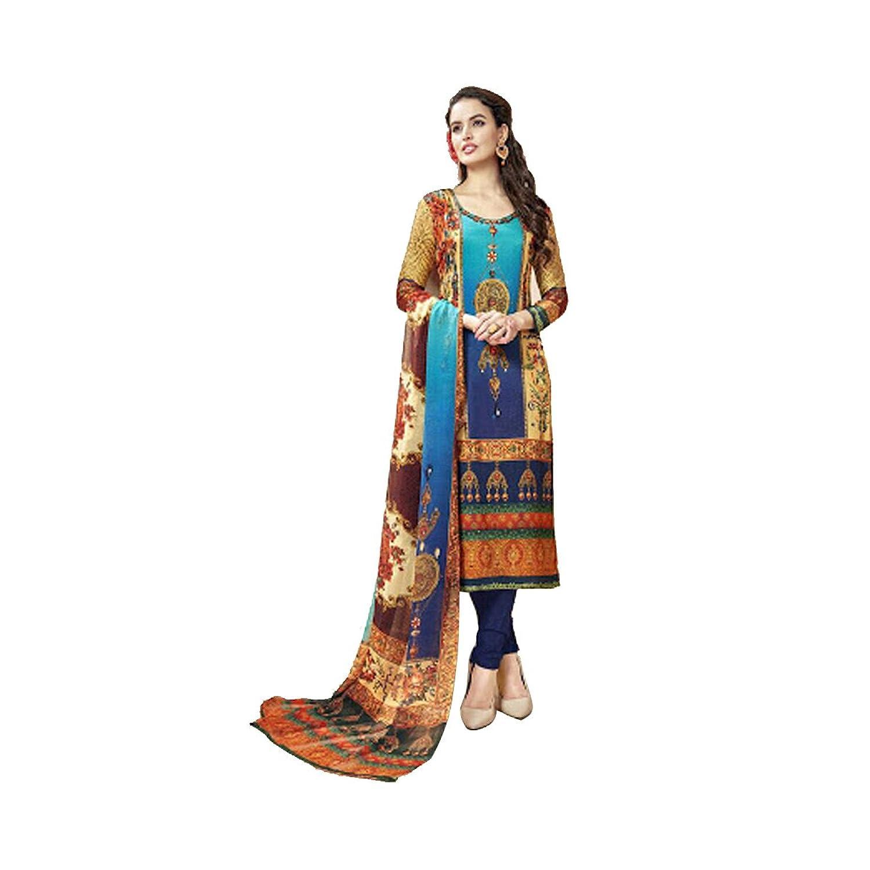 Indian Bollywood Western Straight Shalwar Kameez Suit Wedding Eid Muslim Women Dress Sexy Blouse Bra Punjabi
