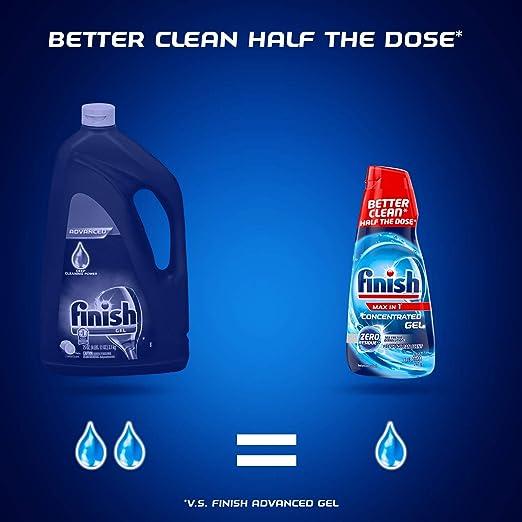 Amazon.com: Finish Max en 1 detergente concentrado de gel ...