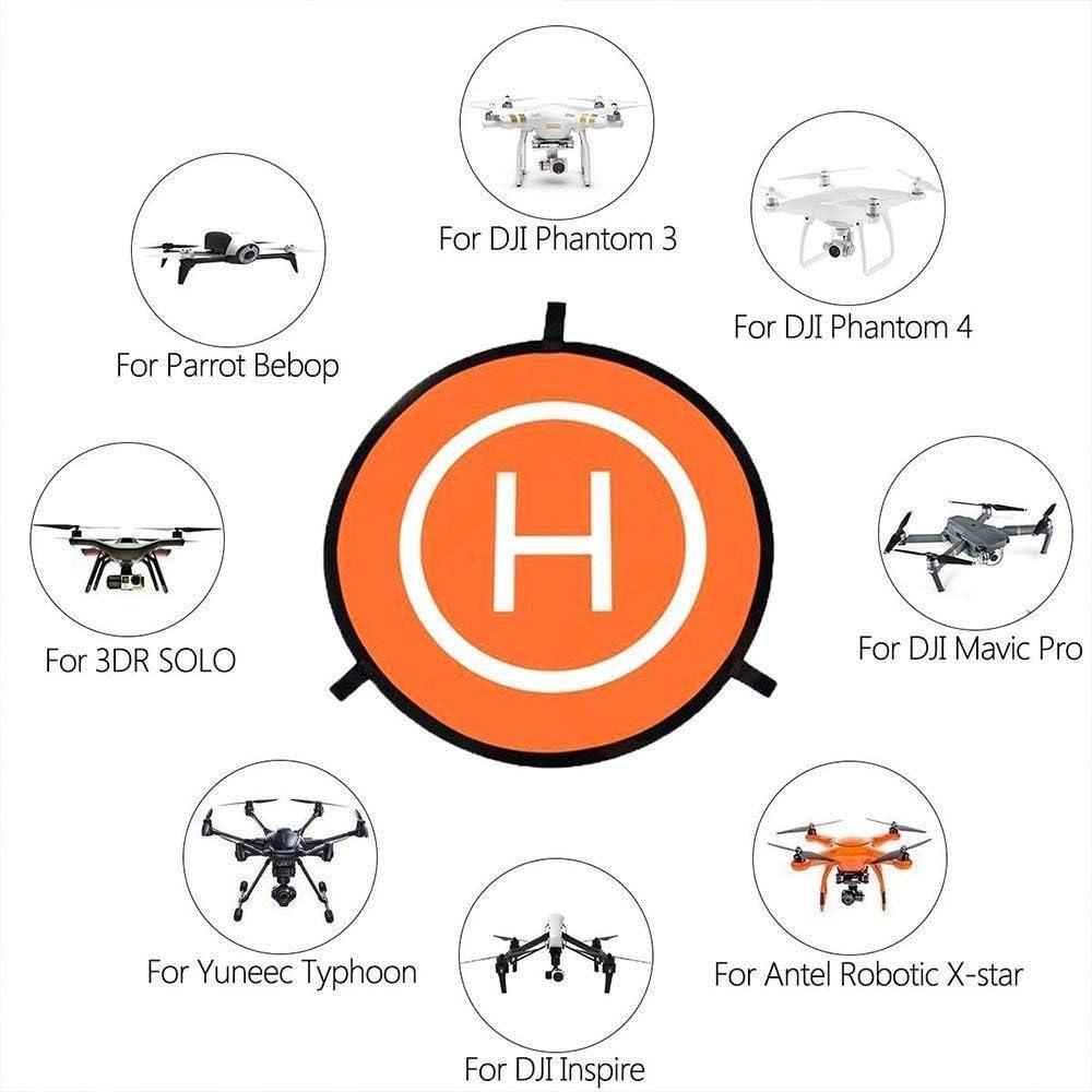 Pads de aterrizaje plegables portátiles para drones