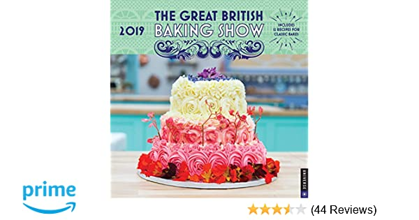 The Great British Baking Show 2019 Wall Calendar: Love Productions