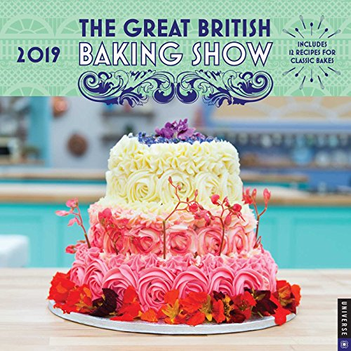 The Great British Baking Show 2019 Wall Calendar by Love Productions